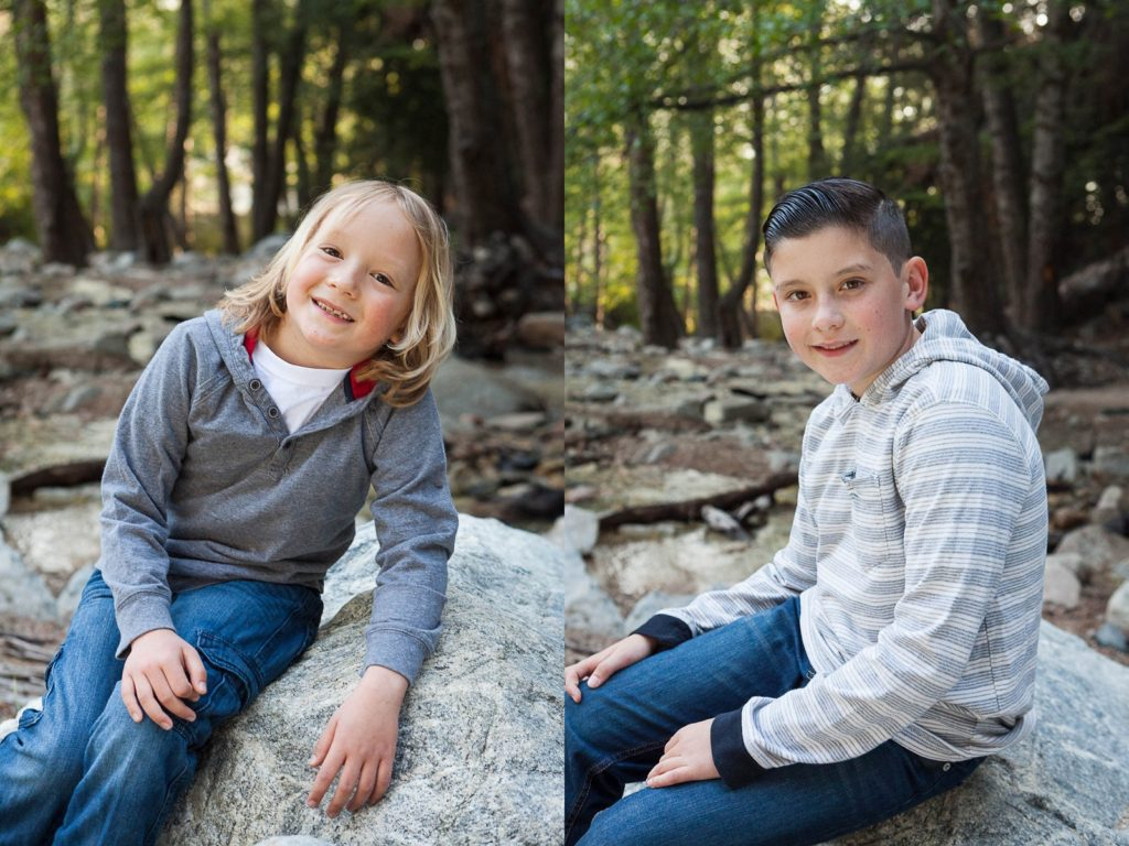 forest falls family session, forest falls photographer, family photographer